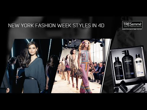 New York Fashion Week in 4D - TRESemmé