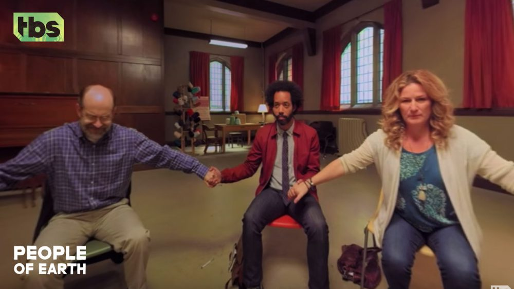 People-Of-Earth-Alien-Abduction-Support-Group-360-Video-CLIP-TBS